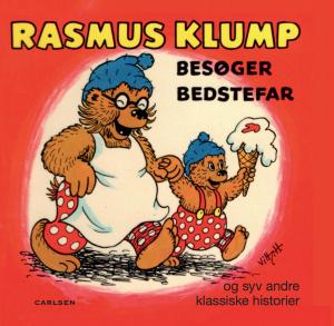 rasmus klump besøger bedstefar, rasmus klump, børnebøger, forlaget carlsen
