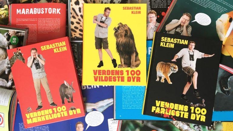 børn, børnebog, aktiviteter, aktivitet, læsning, Sebastian Klein, dyr, dyrebøger, dyrebog, vilde dyr, farlige dyr, mærkelige dyr