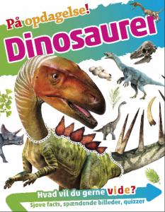 på opdagelse, dinosaurer, børnebog, børnebøger