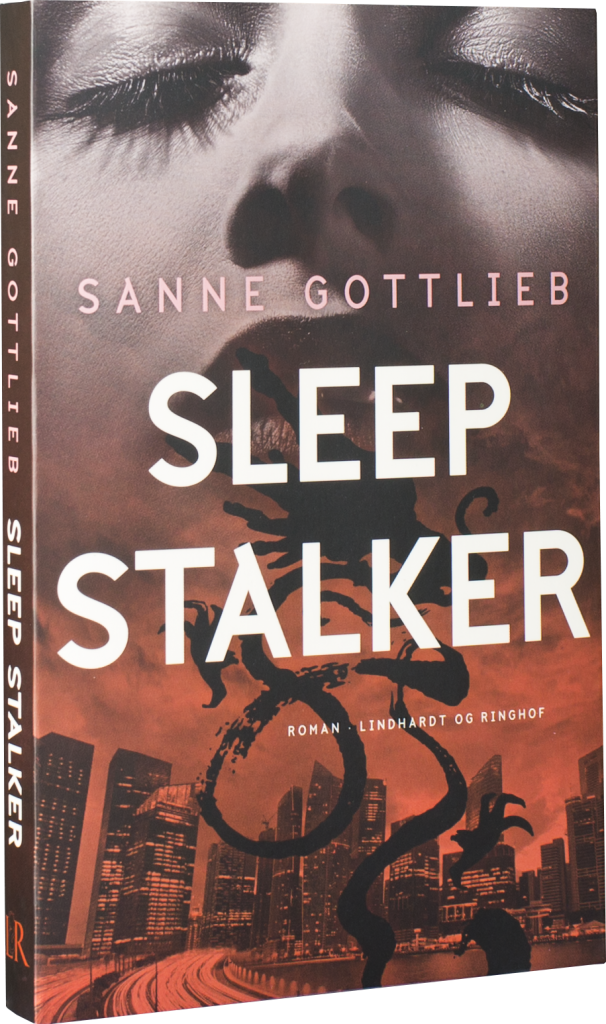 Sleep stalker, Sanne Gottlieb, erotisk roman, mystik