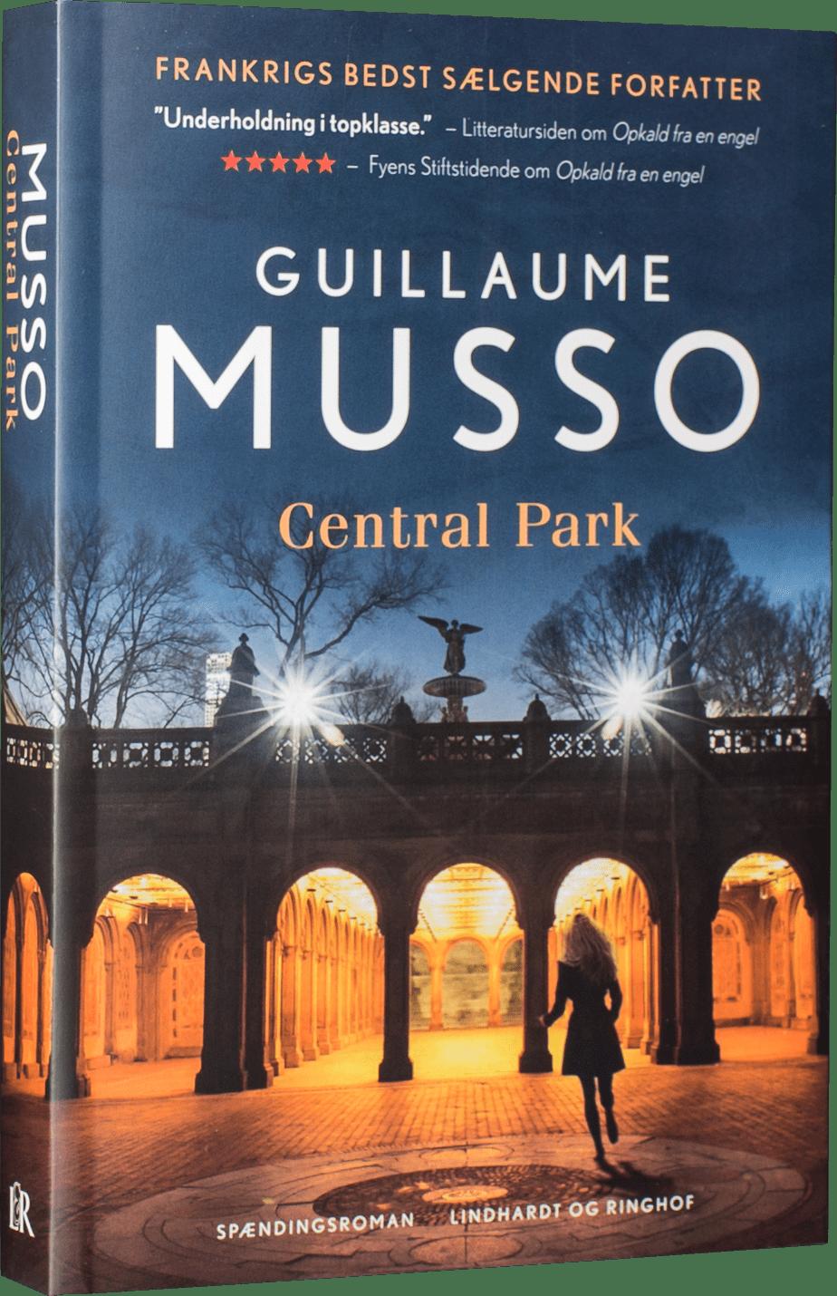 Guillaume Musso, Central Park, spændingsroman, psykologisk thriller, thriller