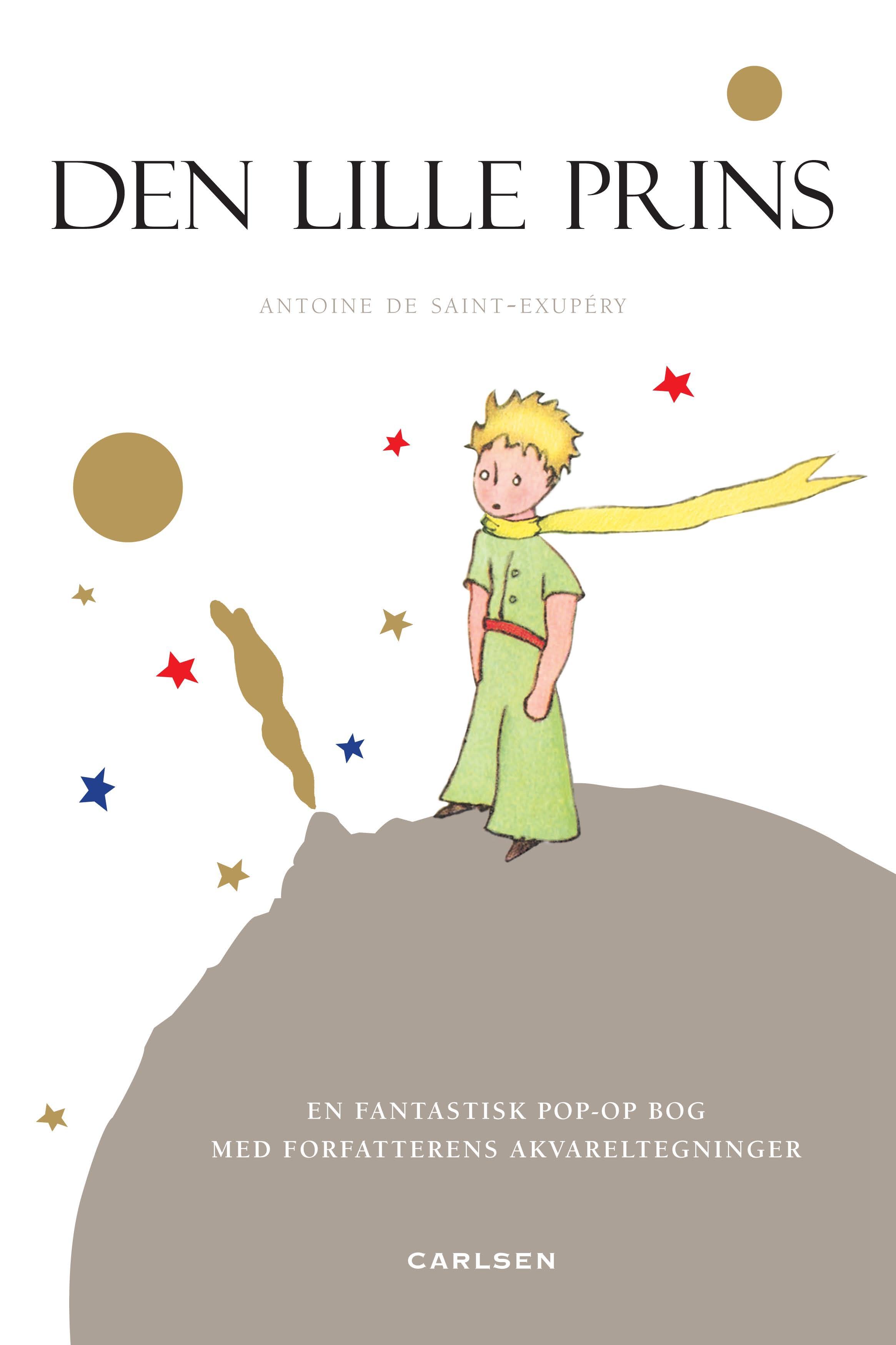 Den lille prins, Antoine de Saint-Exupery, børnebog, børnebøger, børnebogsklassiker, klassiske børnebøger