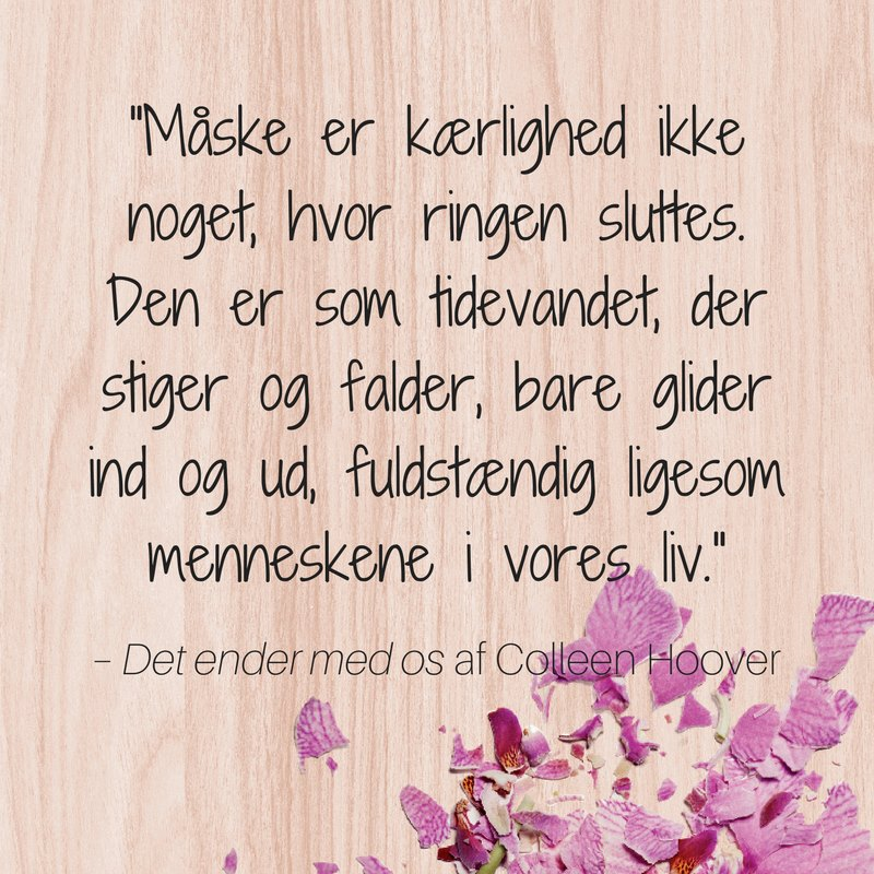 colleen hoover, 9. november, det ender med os