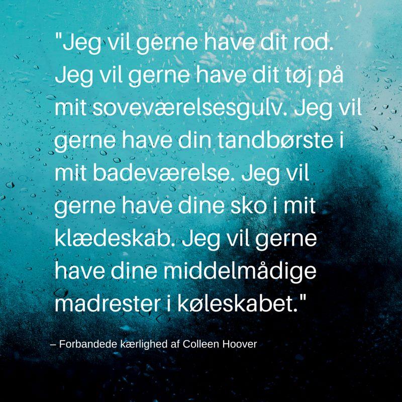 rørende citater 10 smukke Colleen Hoover citater   rørende citater