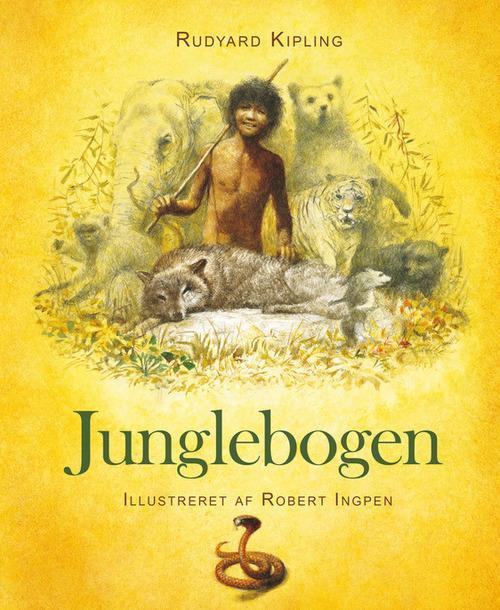 Junglebogen, Rudyard Kipling, Robert Ingpen, børnebog, børnebøger, klassisk børnebog, klassiker