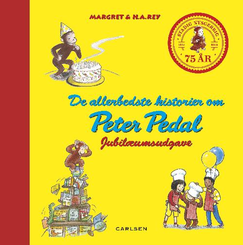 Peter Pedal, de allerbedste historier om peter pedal, Margret Rey, H.A. Rey, børnebog, børnebøger, børnebogsklassiker
