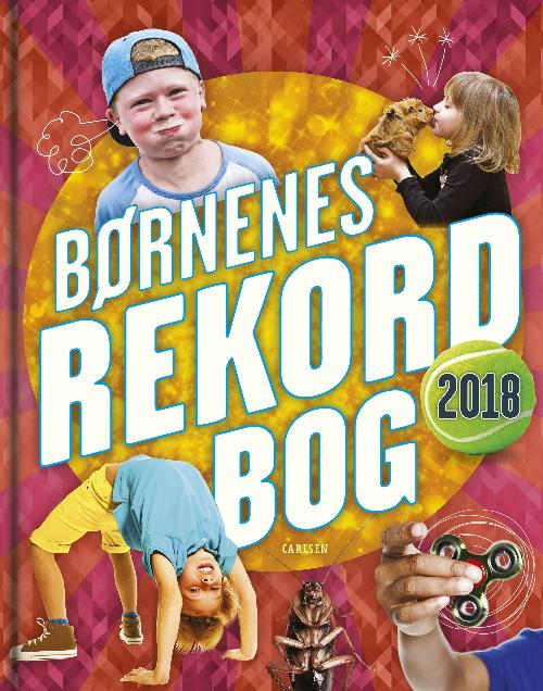 Børnenes rekordbog, børnenes rekordbog 2018, rekorder, rekordbog