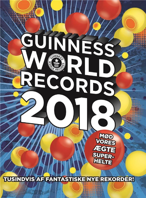 Guinness World Records, Guinness World Records 2018, rekorder, rekord, rekordbog