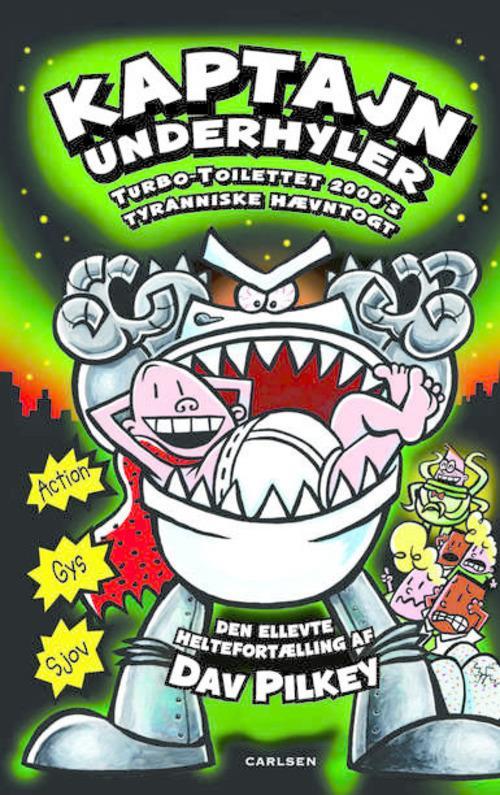 Kaptajn Underhyler, Dav Pilkey, børnebog, børnebøger