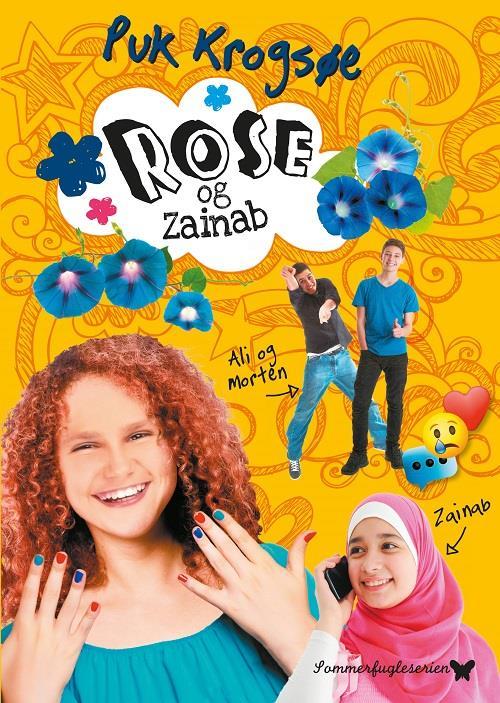 Rose og Zainab, Puk Krogsøe, pigebog, pigebøger