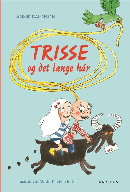 Trisse og det lange hår, Annie Bahnson, børnebog, børnebøger