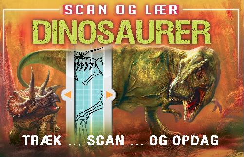 Scan og lær: Dinosaurer, børnebog, børnebøger, dinosaurer