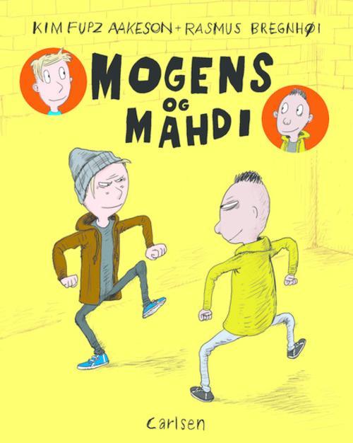 Mogens og Mahdi, Kim Fupz Aakeson, Rasmus Bregnhøi, børnebog, børnebøger, tegneserie