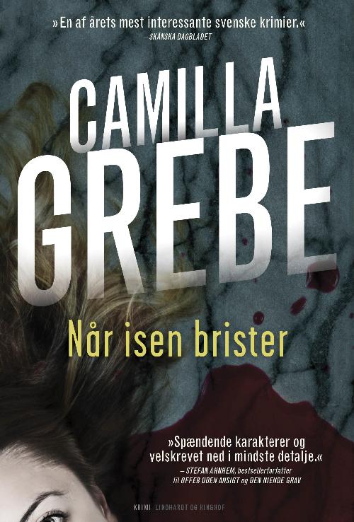 Camilla Grebe, Når isen brister, krimi, thriller