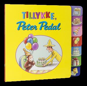 peter pedal, børnebøger, julegaver, papbøger