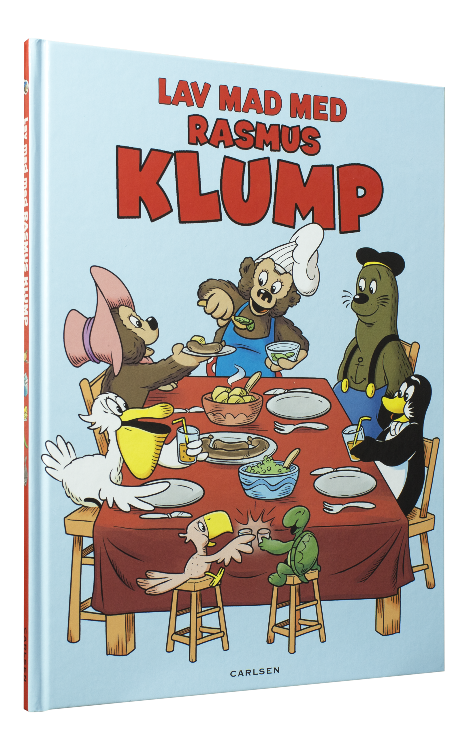 Lav mad med Rasmus Klump , rasmus klump, louisa lorang, børnebøger, julegaver, 3-5-årige