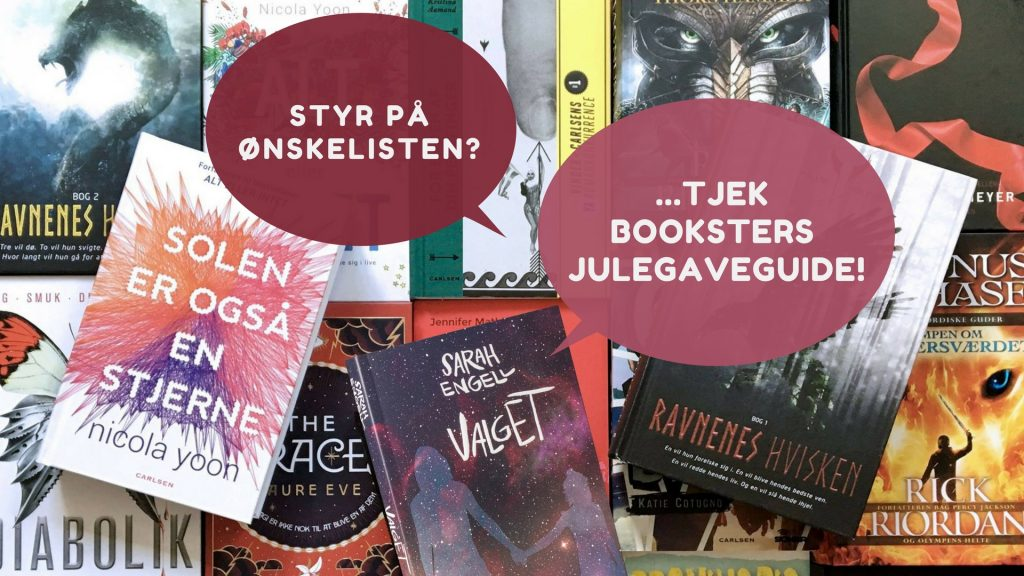 booksterdk, bookster, julegaveguide, young adult, young adult-bøger, ya, ungdomsbøger, julegaver, boggier