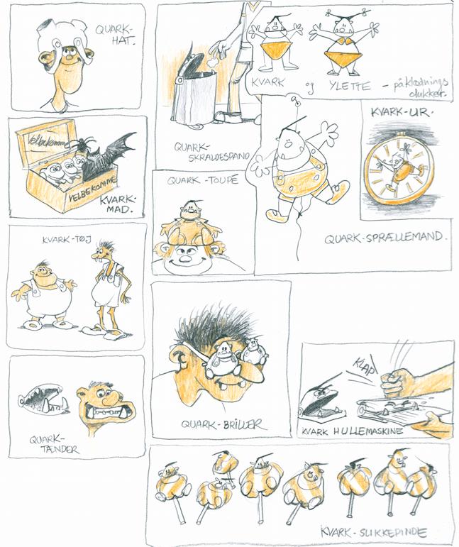 Valhalla, Peter Madsen, Henning Kure, Quark, Valhalla tegneserien