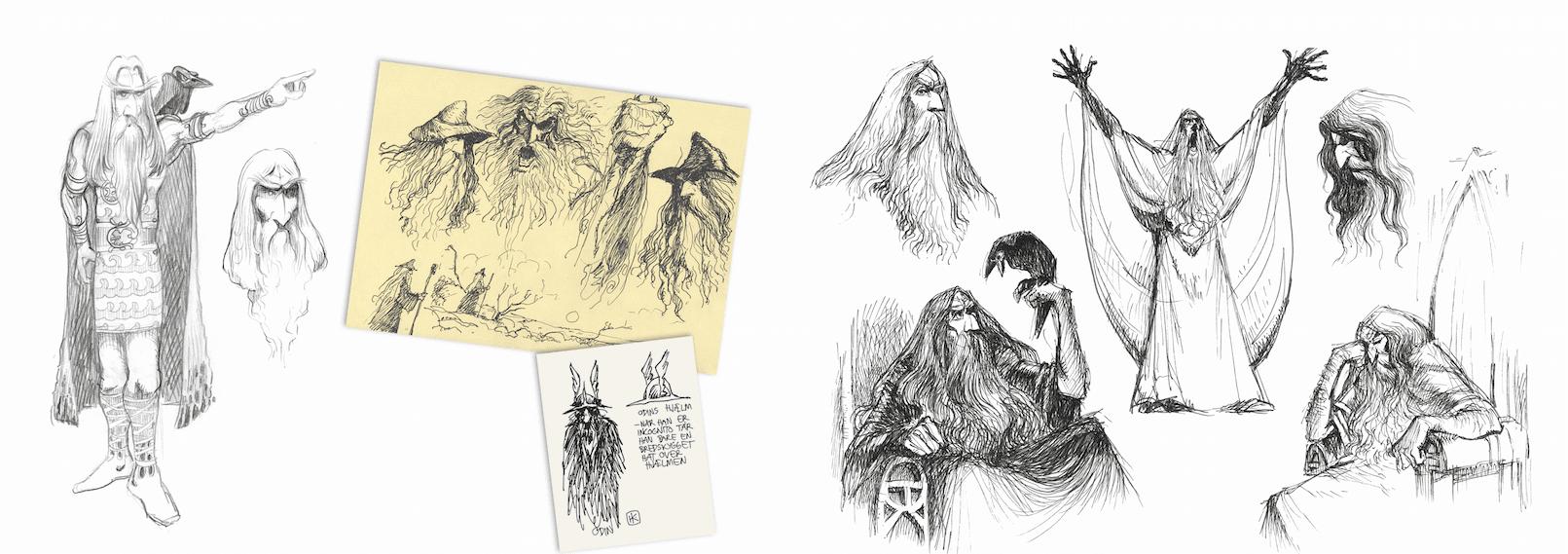 Valhalla, Peter Madsen, Henning Kure, Valhalla tegneserien