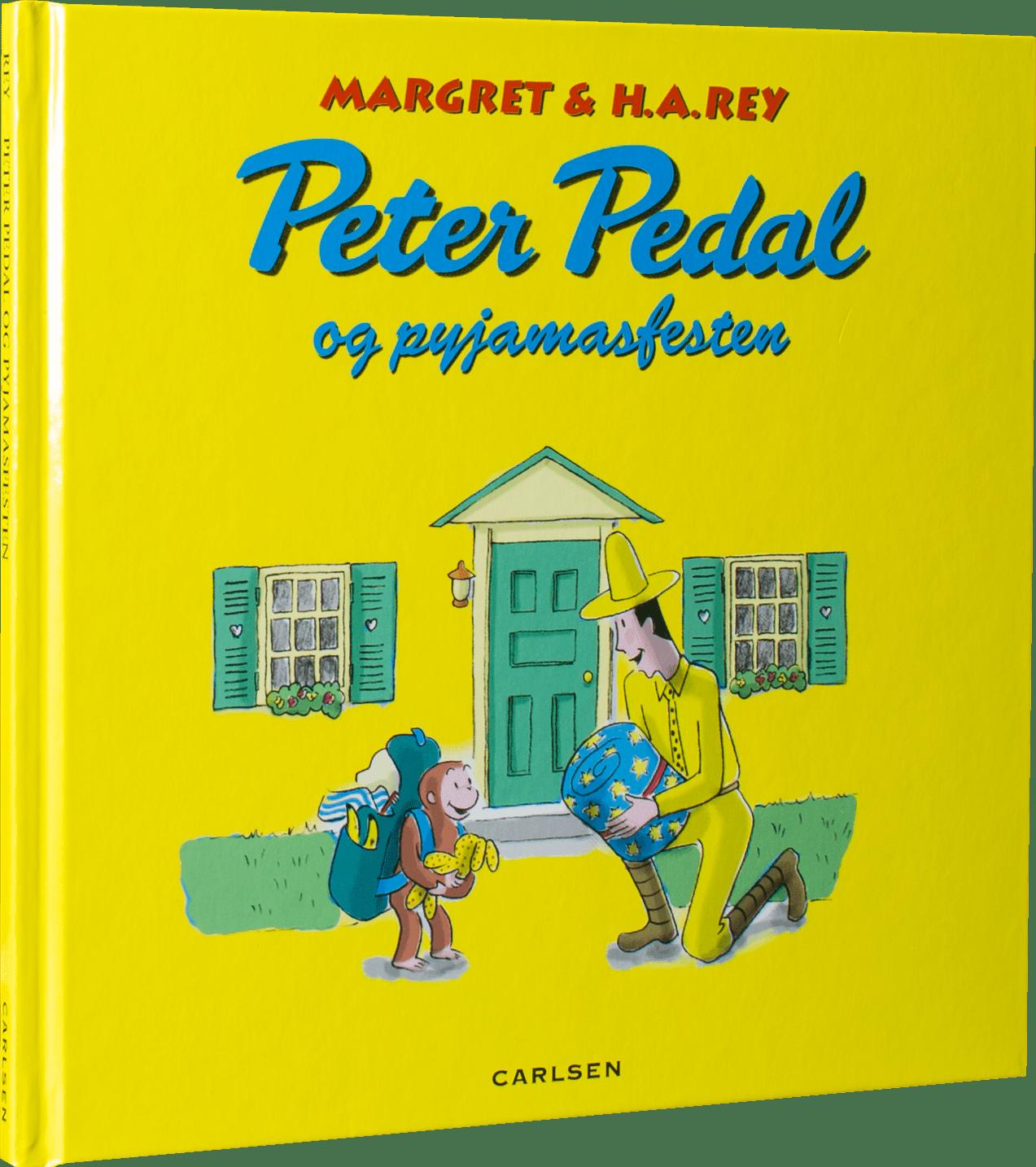 Peter Pedal og pyjamasfesten, peter pedal, børnbøger, julegaver