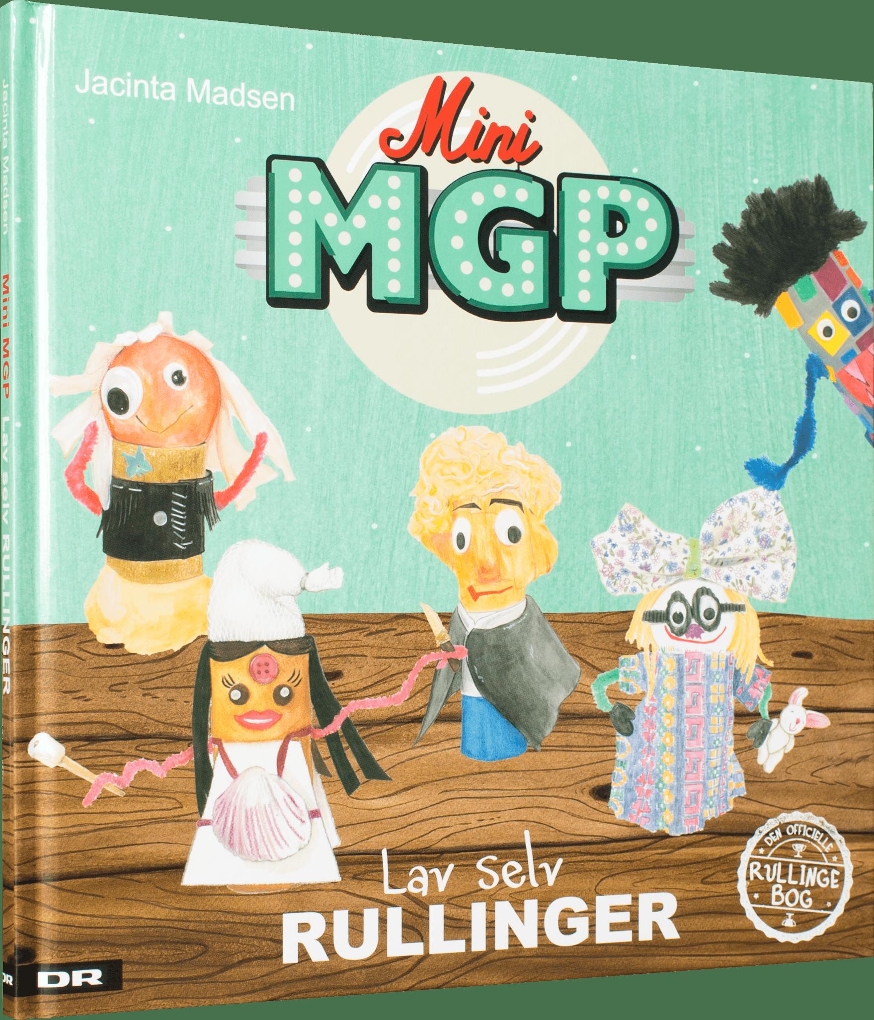 Mini mgp, rullingerne, lav selv rullinger, børnebøger, julegaver,