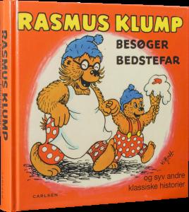 Rasmus klump, rasmus klump besøger bedstefar, børnebøger, julegaver