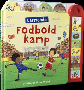 bøger med lyd, sjov med lyd, børnebøger, papbøger, fodbold