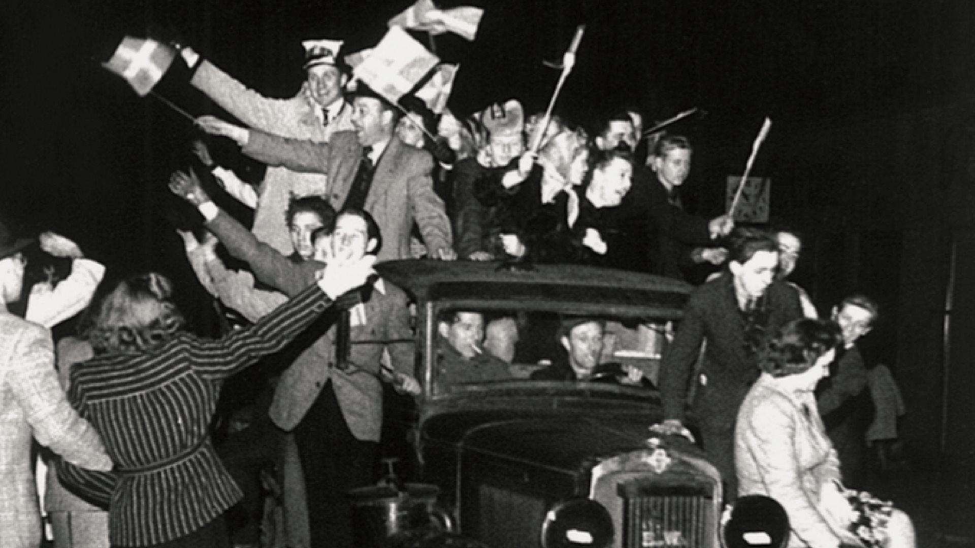 Befrielsen, Besættelsen, 4. maj 1945, 5. maj 1945, Anden Verdenskrig, Besættelsen i billeder