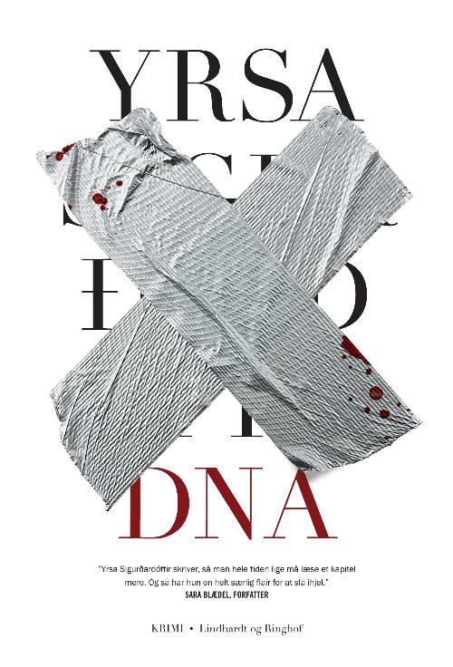 Yrsa Sigurdardottir, DNA, krimi, islandsk krimi