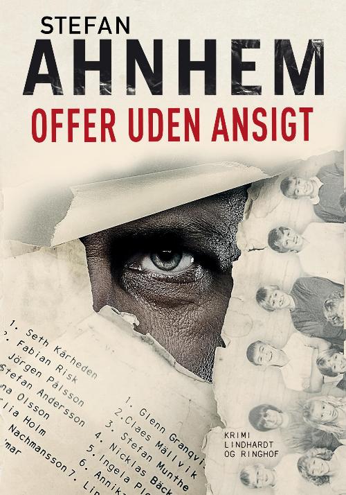 Stefan Ahnhem, Fabian Risk, Offer uden ansigt, krimi, svensk krimi