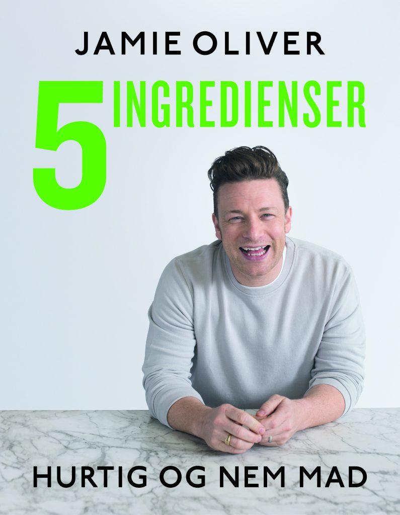 Jamie Oliver, 5 ingredienser, kogebog, sund mad, nem mad, lækker mad, opskrift, opskrifter