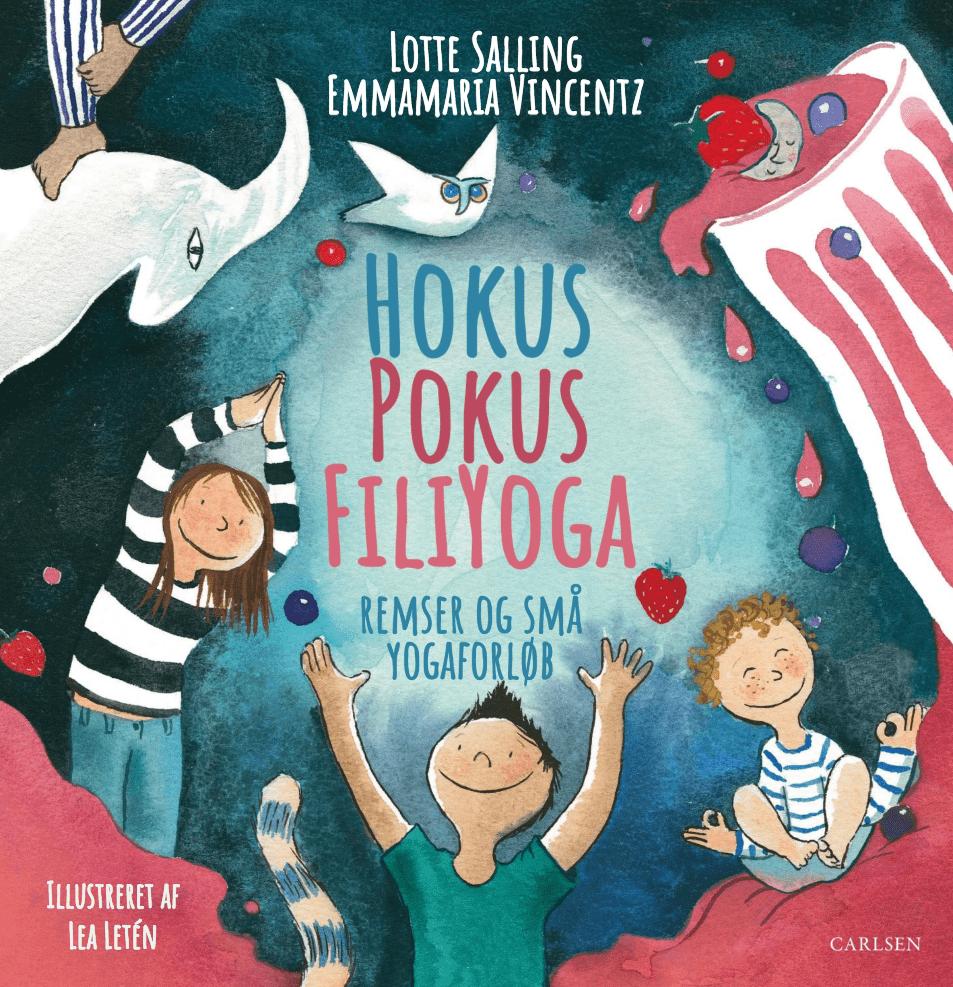 Lotte Salling, Hokus Pokus Filiyoga, børneyoga, yoga til børn, yogaremser