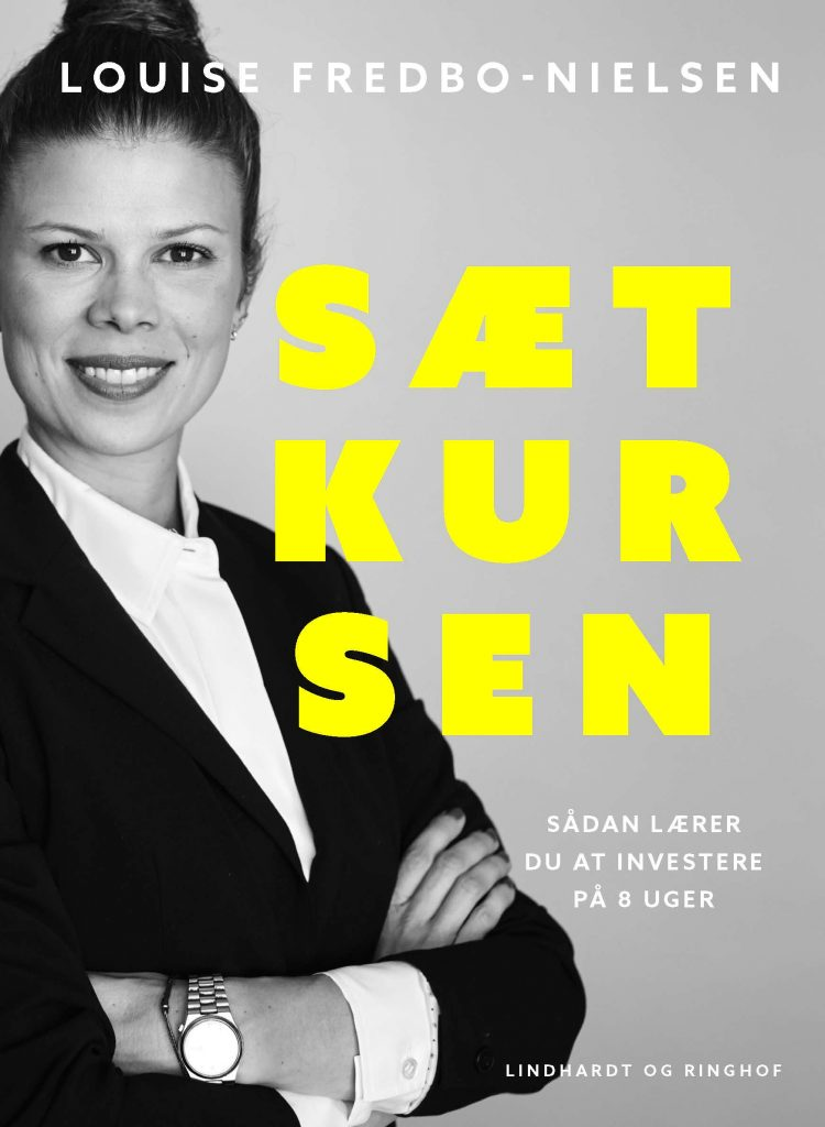 Sæt kursen, Louise Fredbo-Nielsen, få styr på økonomien, økonomi, bog om økonomi