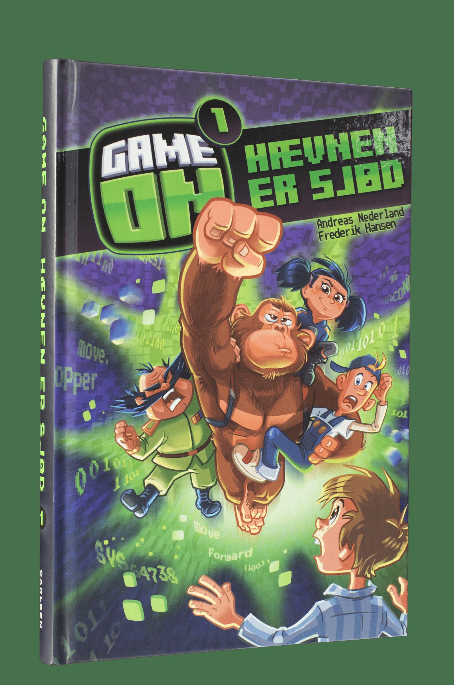 game on, hævnen er sjød, bøger om gamin, bøger om computerspil, børn på nettet, børn på internettet