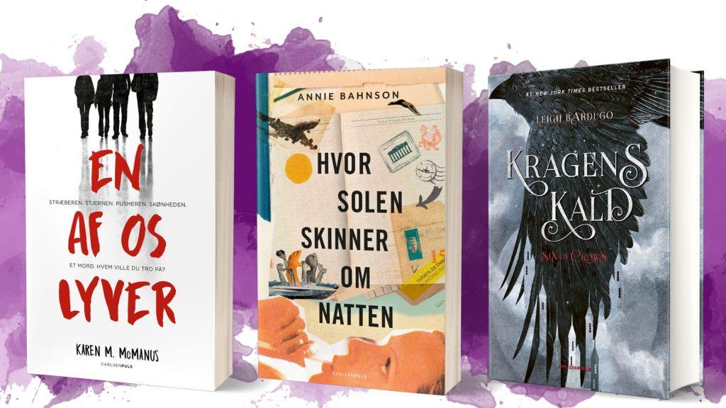 Carlsenpuls, bøger til teenagere, ungdomsbøger, ungdomsbog, ya, young adult bøger