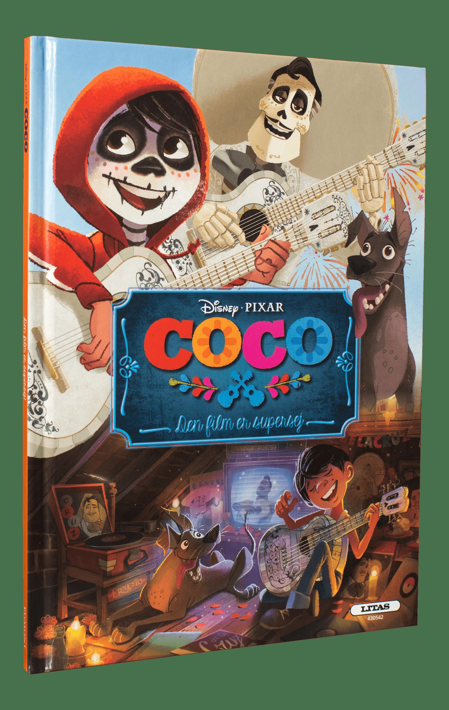 Coco, disney, pixar, disney coco, filmbog, malebøger