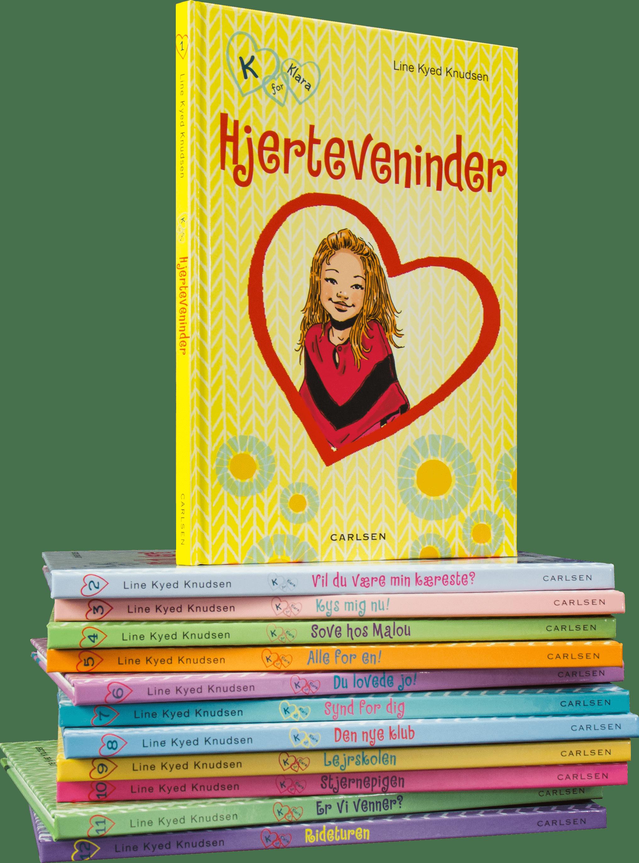 K for Klara, line kyed knudsen, forbudt foto, bøger til piger, letlæsning, pigebøger