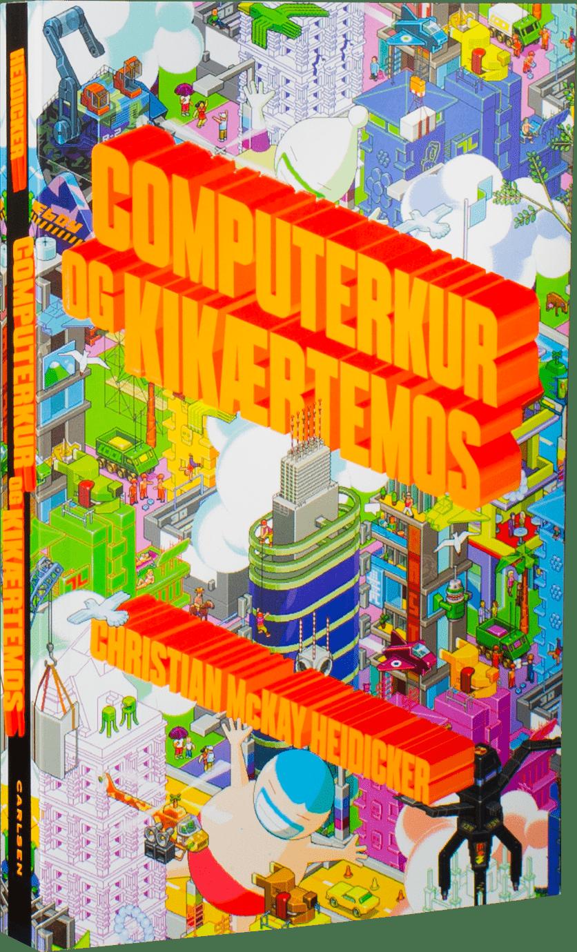 Computerkur og kikærtemos, bøger om computerspil, bøger om gaming, børn på nettet, børn på intertettet, digitale børn, spilleglade børn