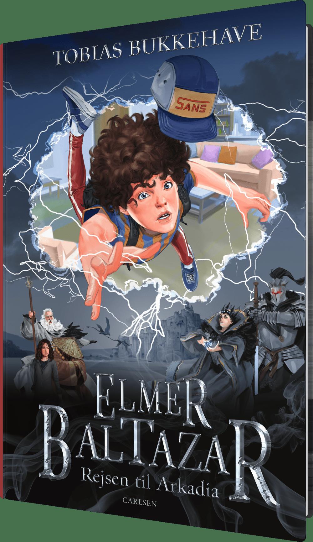 Elmer baltazar, rejsen til Arkadia, fantasy, fantasyromaner, fantasybøger