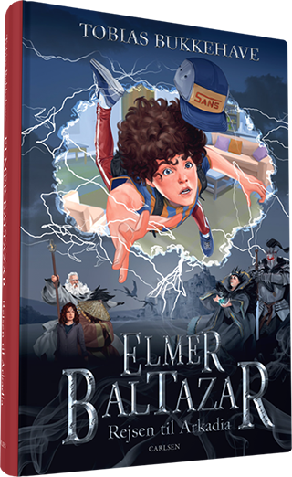 Elmer Baltazar, rejsen til arkadia, tobias bukkehave, fantasy, børnebøger, ferielæsning, børnebøger til vinterferien, højtlæsning, bøger til tweens