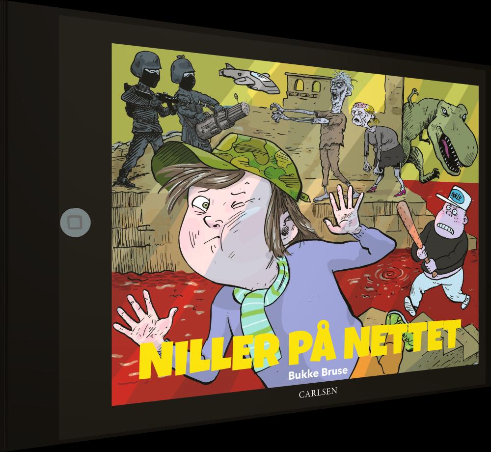 Miller på nettet, børn på nettet, digitale indfødte, børn på internettet, bøger om computerspil, bøger om gaming