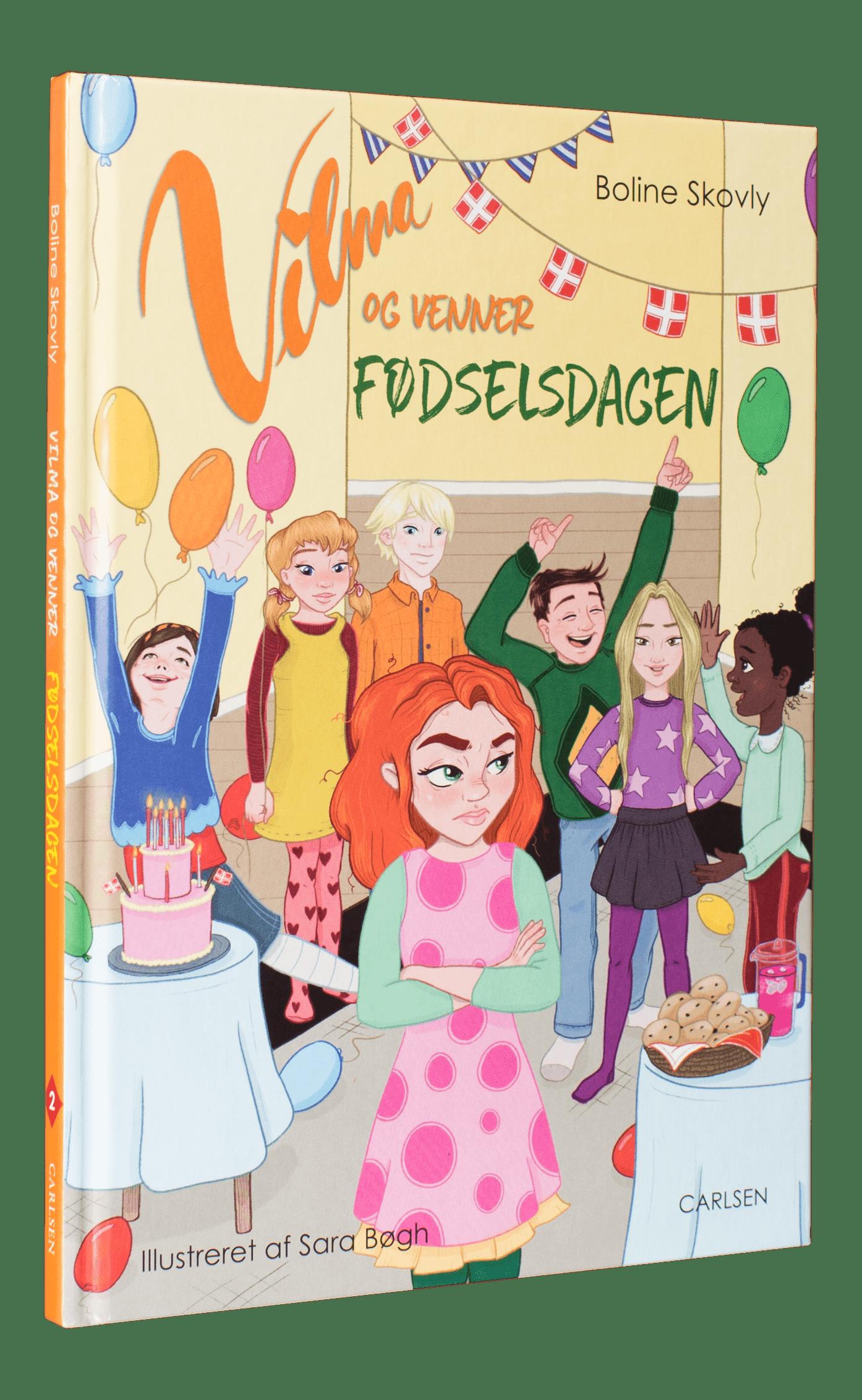 Vilma og venner, boline skovly, selvlæsning, bøger til 6-9-årige, at turde være sig selv, letlæsning, læs selv