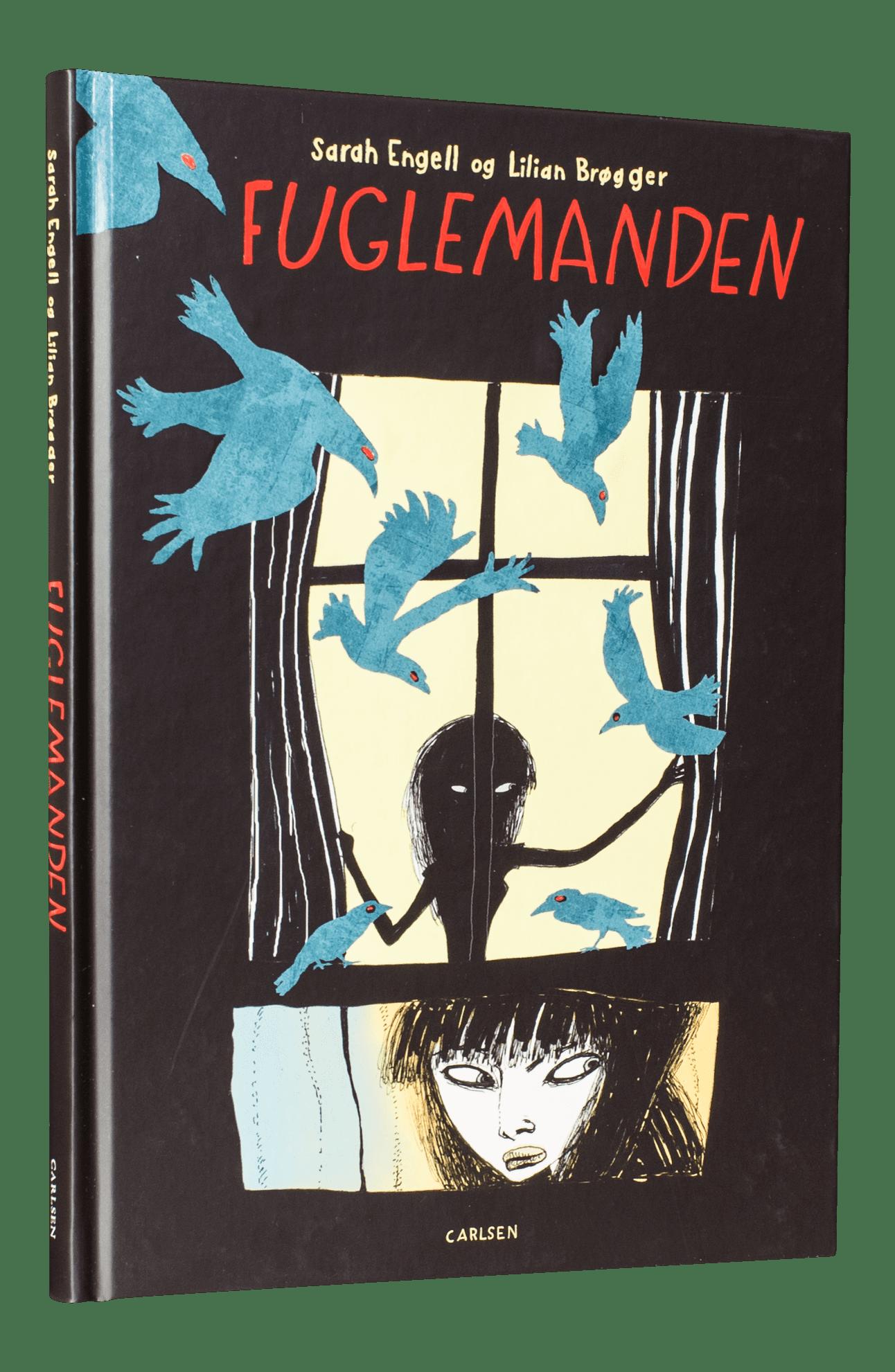 Fuglemanden, psykisk sygdom, sarah engell, lilian brøgger, grafisk roman, ungdomslitteratur