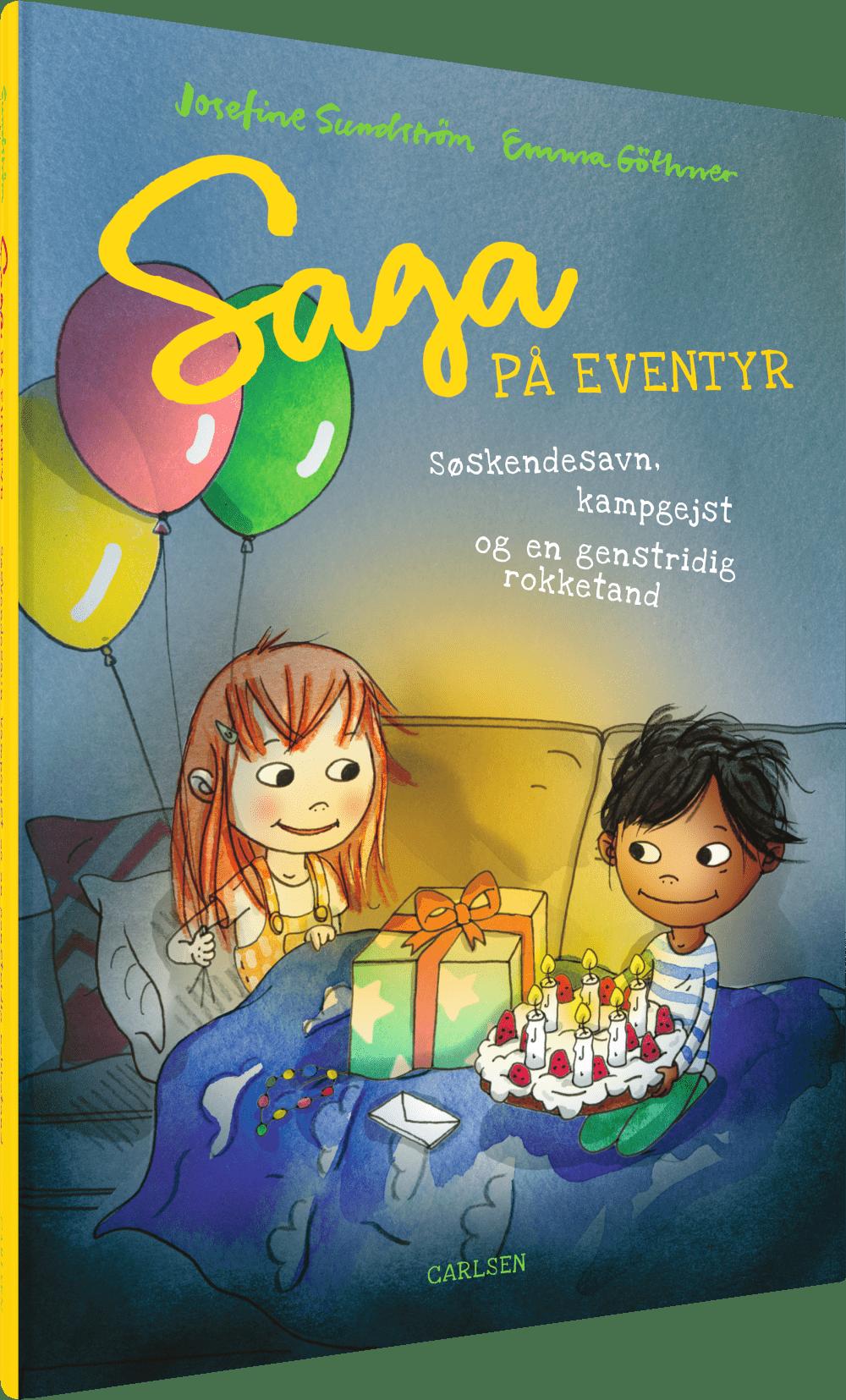 saga på eventyr, højtlæsning, bøger til 5-årige