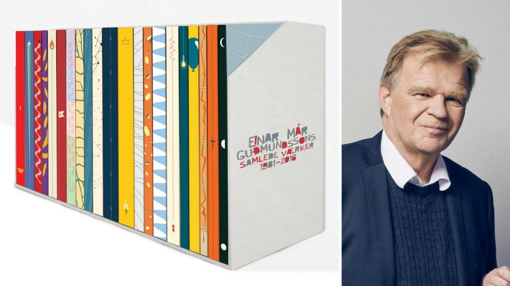 Einar mar gudmundsson, samlede værker, island, universets engle, store forfattere