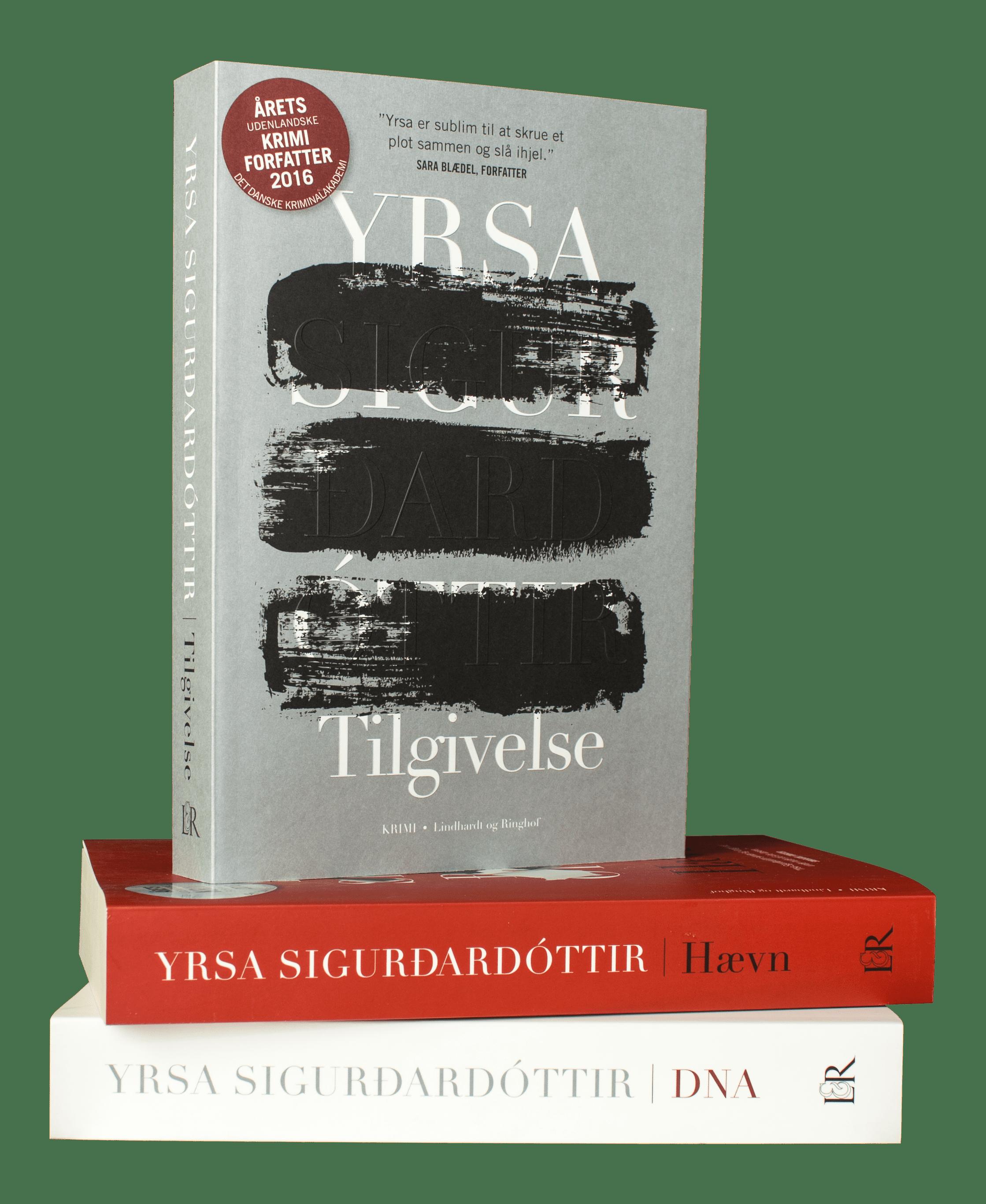 Yrsa Sigurdardottir, Tilgivelse, Freya og Huldar, krimi