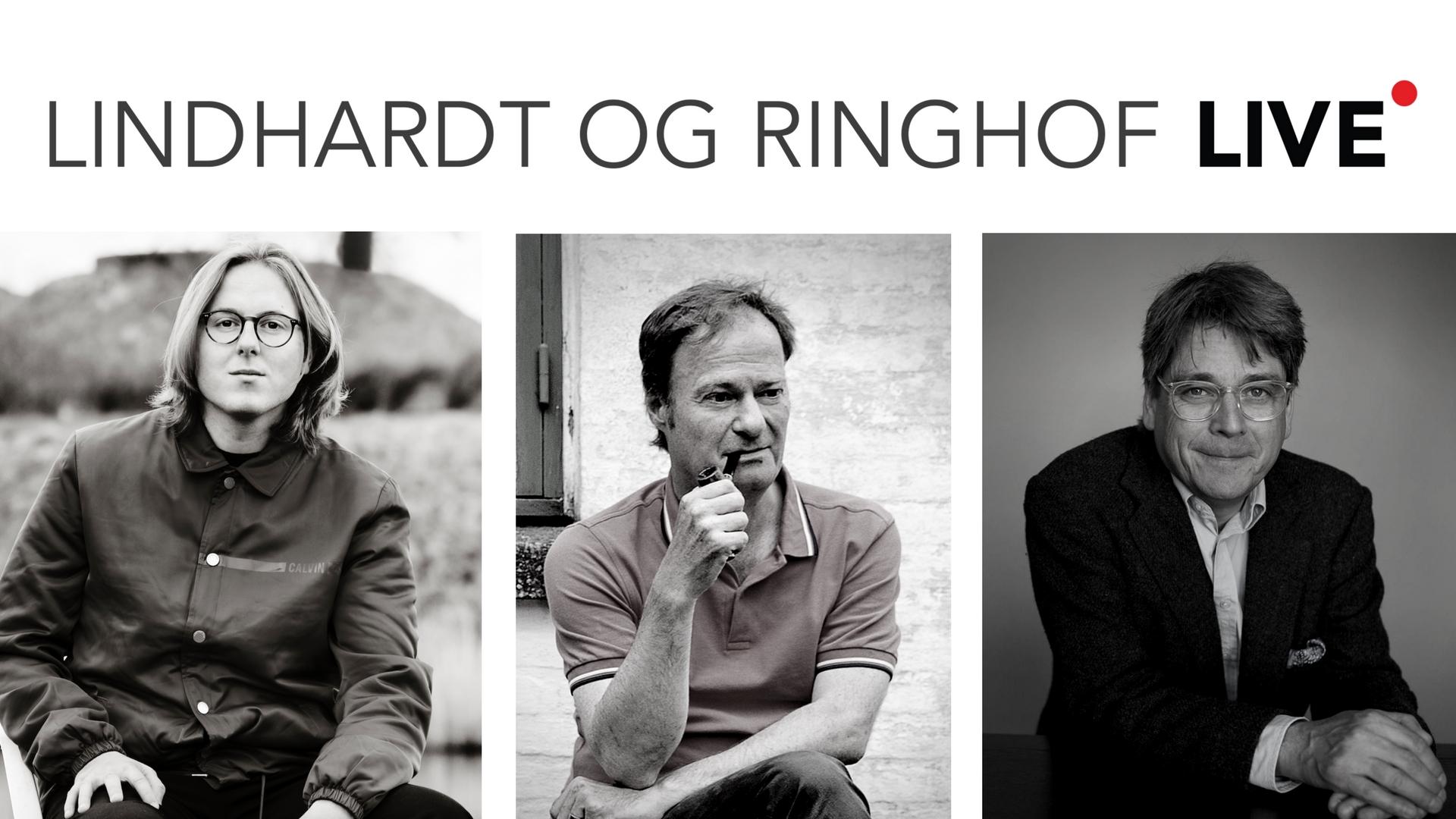 Lindhardt og Ringhof LIVE med Thomas Korsgaard, Knud Romer og Peter Lund Madsen
