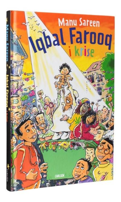 Iqbal Farooq, manu sareen, bogserier, bogserie, børnebøger, højtlæsning, geniale bogserier