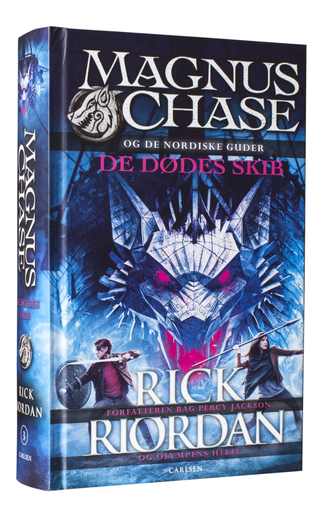 Magnus Chase, rick riordan, percy, percy jackson, de dødes skib
