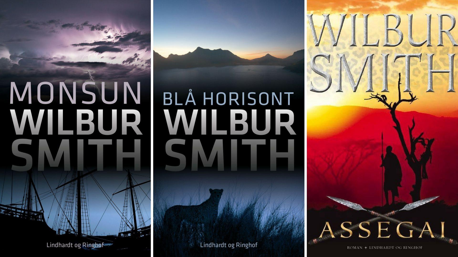 wilbur smith bøger rækkefølge